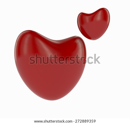 ABSTRACT 3D HEART RENDER