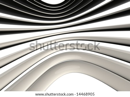 abstract 3d render - stock photo