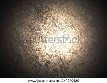 abstract, dark and gold background - stock photo