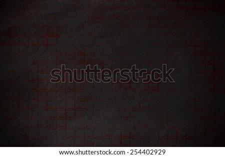 Abstract dark and red grunge technical background paper - stock photo