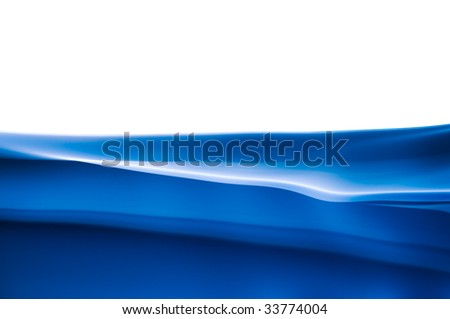 abstract dark blue background on white