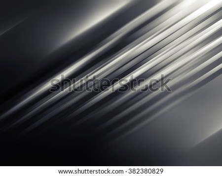 Abstract dark digital background with shining blurred lines pattern - stock photo