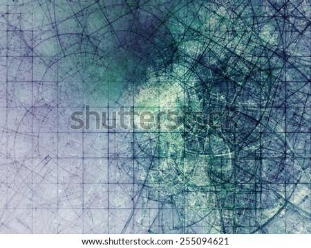 Abstract dark mood background - stock photo