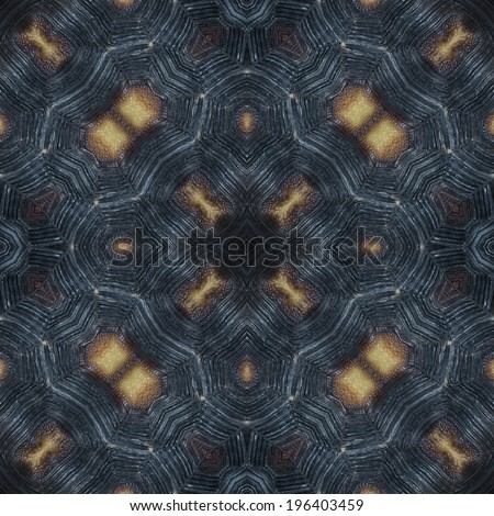 abstract decorative design pattern of tortoise shell texture - stock photo