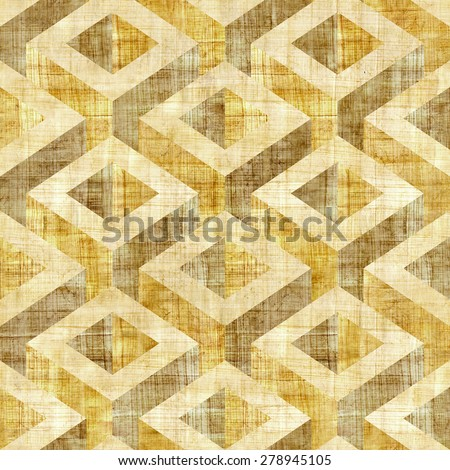 Abstract decorative panels - Interior Design wallpaper - Vintage wallpaper - paneling pattern - retro vintage design - wall decorative tiles - seamless pattern - wrapping paper - papyrus texture - stock photo