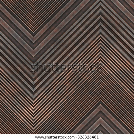 Abstract decorative rusty seamless tile. - stock photo