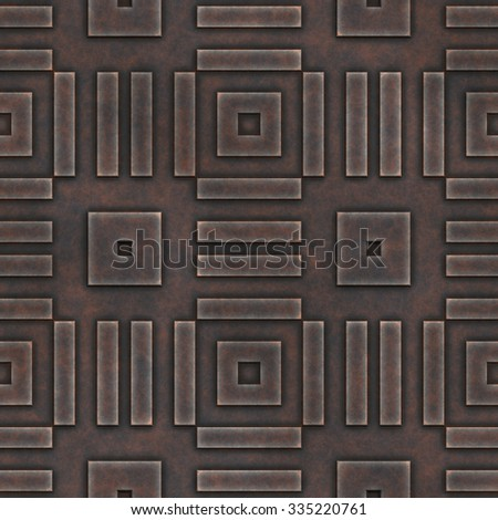 Abstract decorative  rusty seamless tile.