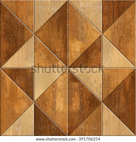 Abstract Decorative Texture Seamless Background Wood Stock