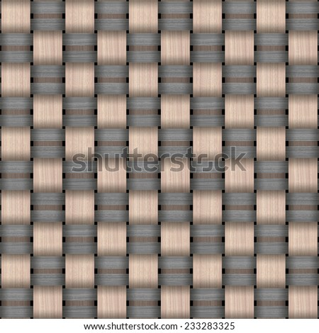 Abstract decorative wooden striped textured weaving background