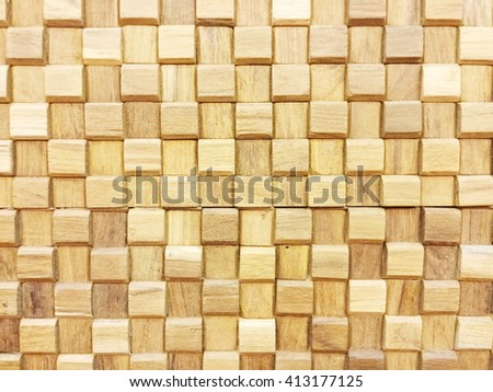 Abstract decorative wooden textured