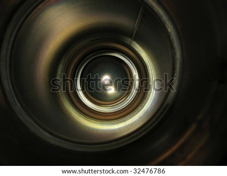Abstract deep concept (Shutterstock symbol)