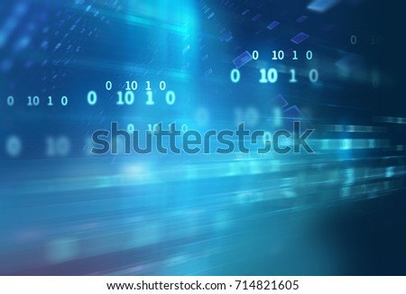 abstract defocus digital technology background,represent big data and digital 