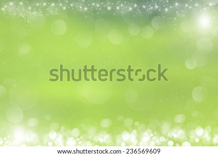 Abstract defocused background with bokeh lights