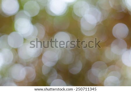 Abstract Defocused Bokeh Lights As Festive Background