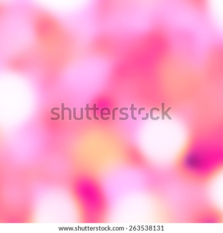 Abstract delicate pink floral bokeh background, closeup  - stock photo