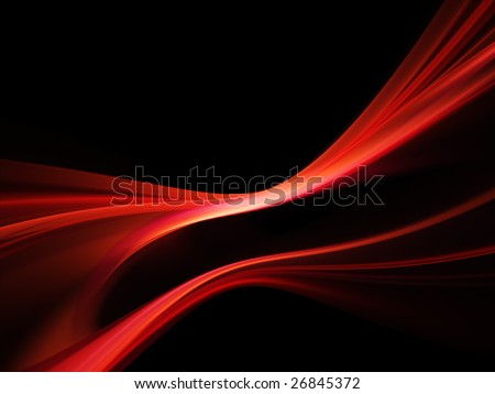 Abstract design. Available in red, green and blue colors on white and black background. - stock photo