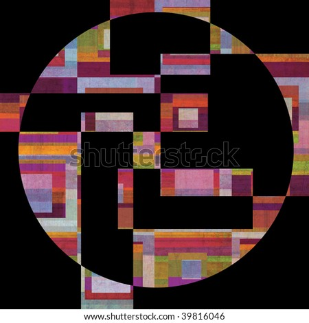 abstract design composition - stock photo
