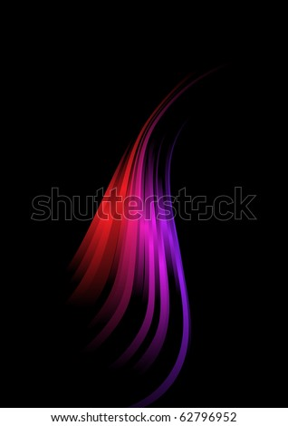 Abstract design element. Raster version. Vector version is in my gallery. - stock photo