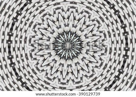 abstract design in black and white