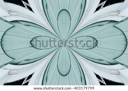 abstract design in various shades of green, black and white colors - stock photo