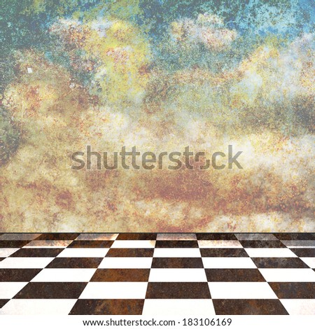 Abstract design made of dreamy background - stock photo