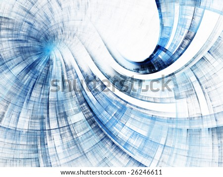 Abstract design. Red, green and blue versions on white and black backgrounds available. - stock photo