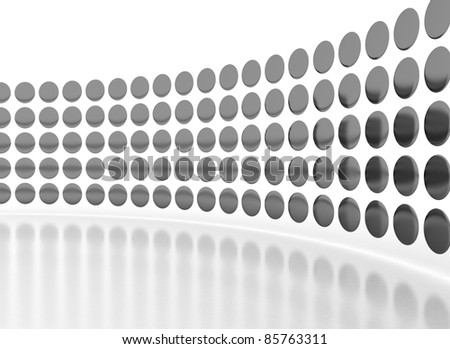 abstract design template - stock photo