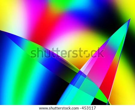 Abstract Diamonds - stock photo