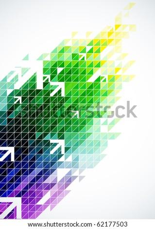 Abstract Digital Art - stock photo