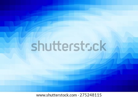 Abstract Digital Art Blue Background Design