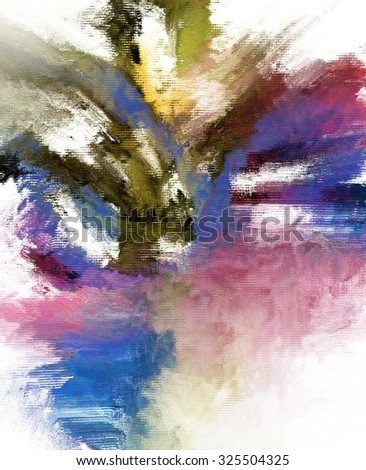abstract digital painting for background/abstract expressionist painting/abstract digital painting for background