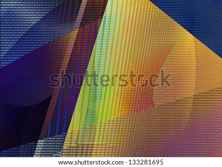 Abstract digitally background