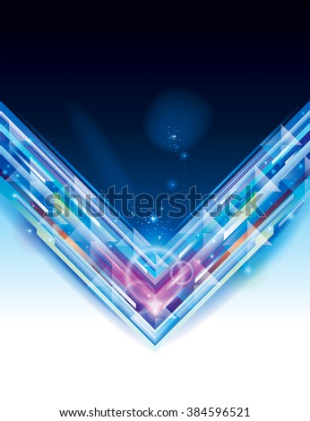 Abstract digitally generated technology background. - stock photo