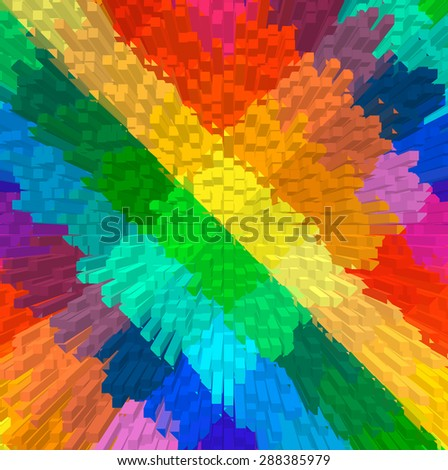 abstract dimension background