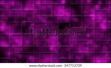Abstract Distorted Tiled Background Illustration - Pink - stock photo