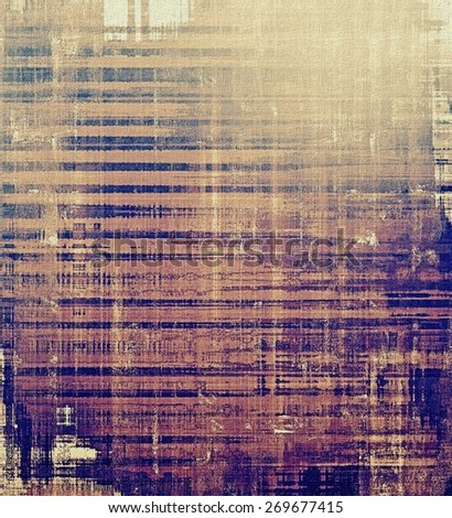 Abstract distressed grunge background. With different color patterns: purple (violet); blue; brown; gray - stock photo