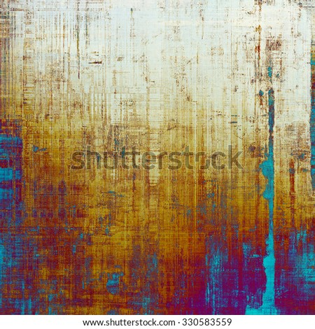 Abstract distressed grunge background. With different color patterns: yellow (beige); purple (violet); red (orange); blue - stock photo