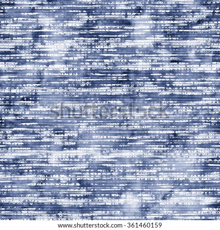 Abstract distressed space dye. Seamless pattern. - stock photo
