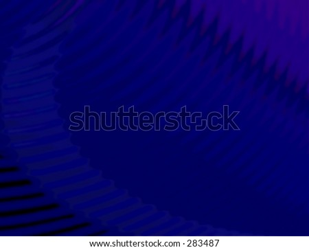 Abstract dramatic blue background - stock photo