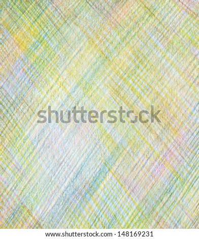 Abstract draw color pencil background - stock photo