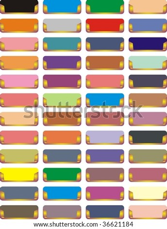 Abstract drawer handles - stock photo