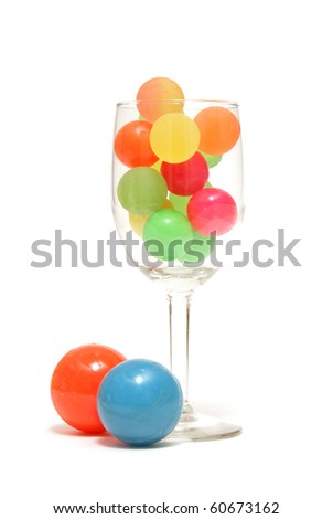 Abstract Drink - stock photo