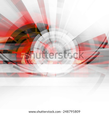 Abstract Dynamic Art Futuristic Background Design - stock photo