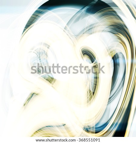 Abstract dynamic background, futuristic wavy illustration  - stock photo