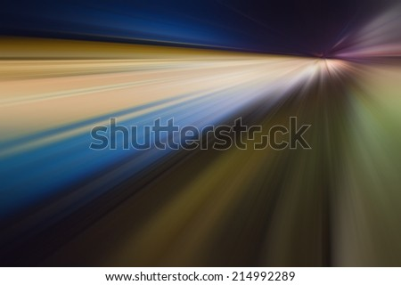 abstract dynamic composition, light beams and effects