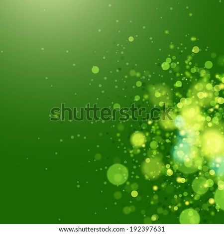 abstract eco background green