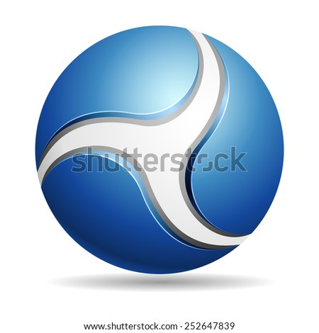 Abstract Eco sign - stock photo
