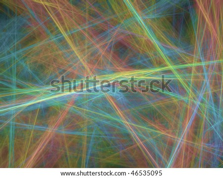 Abstract elegance background - raster fractal graphics - stock photo