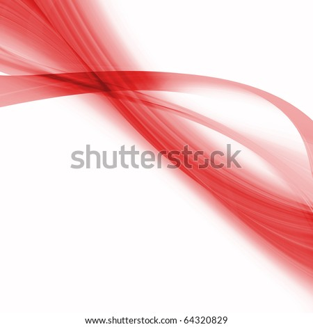 abstract elegant curved objects with space for your text - stock photo