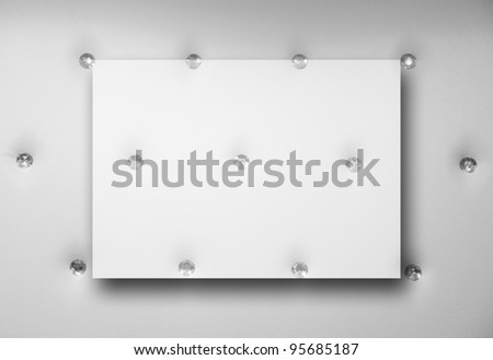 abstract elegant seamless background with transparent frame at the middle for your images and texts - stock photo